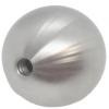 Kula z gwintem Ø100/M10 mm , AISI 304 , szlif, CE