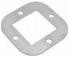 Stopa montażowa, kryza 88x88x4,0mm/50x50mm, AISI 304, surowa, nierdzewna, CE