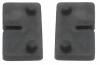 Komplet (2szt) gumek dla blachy 2mm, dla uchwytu MODEL 21, CE