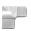 Kolano 90° dla profila 40x10x1,5mm , AISI 304, szlifowane, nierdzewne ,CE