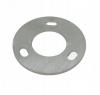 Stopa montażowa,kryza Ø90x4mm/42,4mm, otwory fasolki 11 x 15mm, AISI 304, surowa, nierdzewna, CE