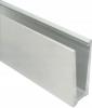 Profil U balustrady szklanej, aluminiowy 1250mm , montaż górny