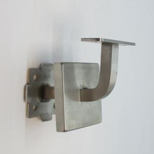 Wspornik poręczy - kwadratowy - mocowanie 4 śruby