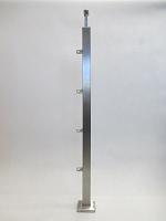 Słupek kwadratowy - wypełnienie rurki lub profile