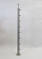 8 uchwytów rurki - mocowanie od góry