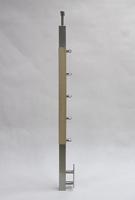 5 wypełnień poziomych - mocowanie do boku