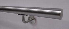 Poręcz okrągła Ø42,4 - szlifowana ( satyna ) AISI 316