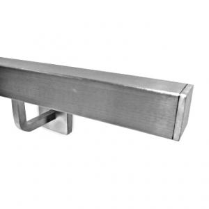 Poręcz z profilu 40x40 - szlifowana ( satyna )